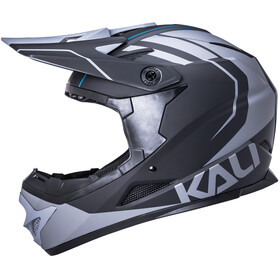 Kali Zoka Helm Heren, black/grey